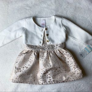 NWT Cat & Jack Baby Girl Dress